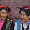 Tibetan women at Jiulong