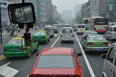 Chengdu street life
