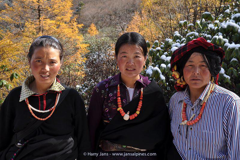 Sichuan,  Huanglong, 3220-3550m