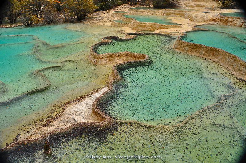 Huanglong Tufa Pools