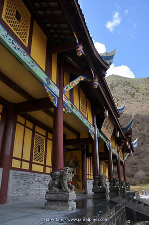 Huanglong Si (Temple)