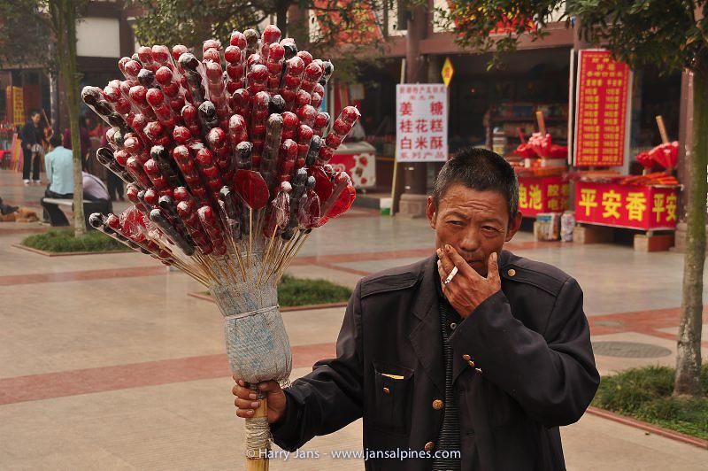 Sichuan,  Xindu, 490m