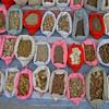 all kind of herbs, roots, dried animals etc. for medicine
