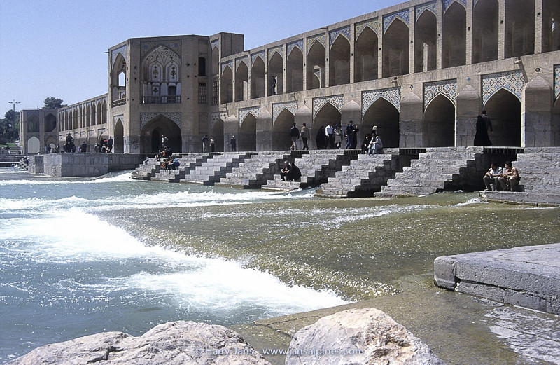 Khaju Bridge in Esfahan