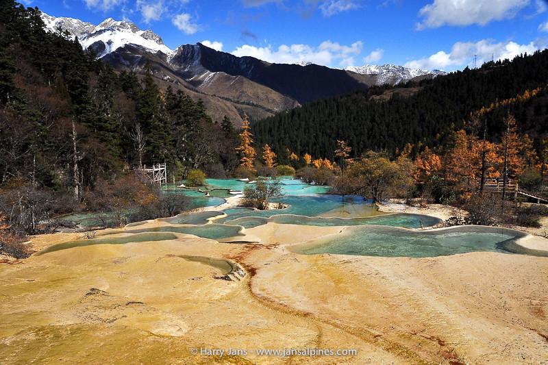 China,  Sichuan,  Huanglong, 3220-3550m