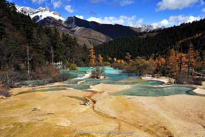 China,  Sichuan,  Huanglong, 3220-3550m
