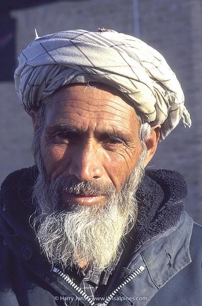 Iranian man in Bastam