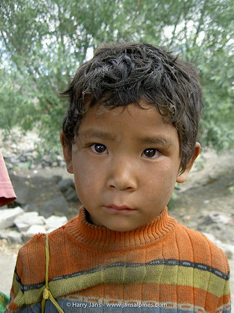 Tibetan child