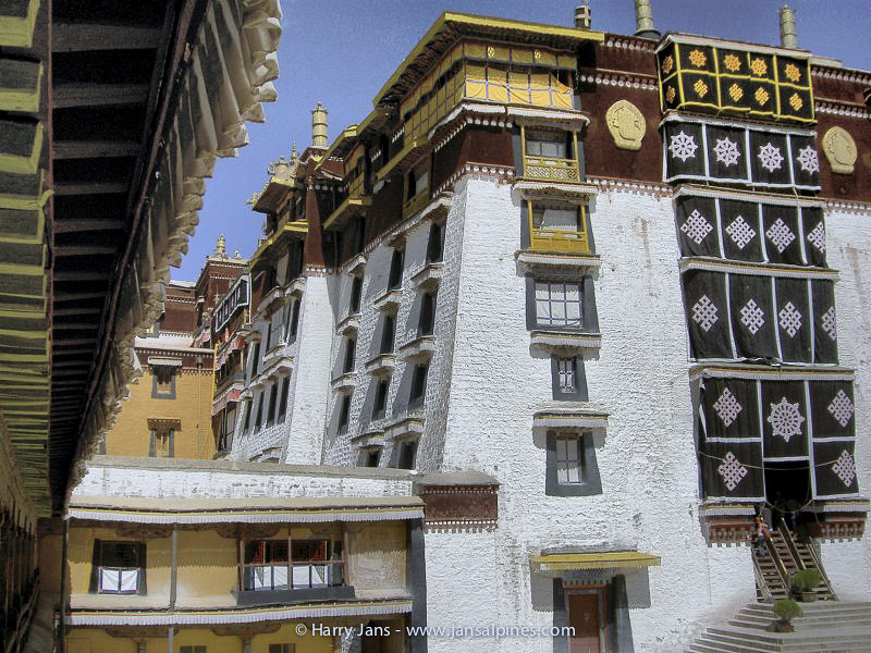 The Potala Palace (part of the White Palace)