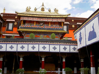 The Jokhang monastery, apartment Dalai Lama