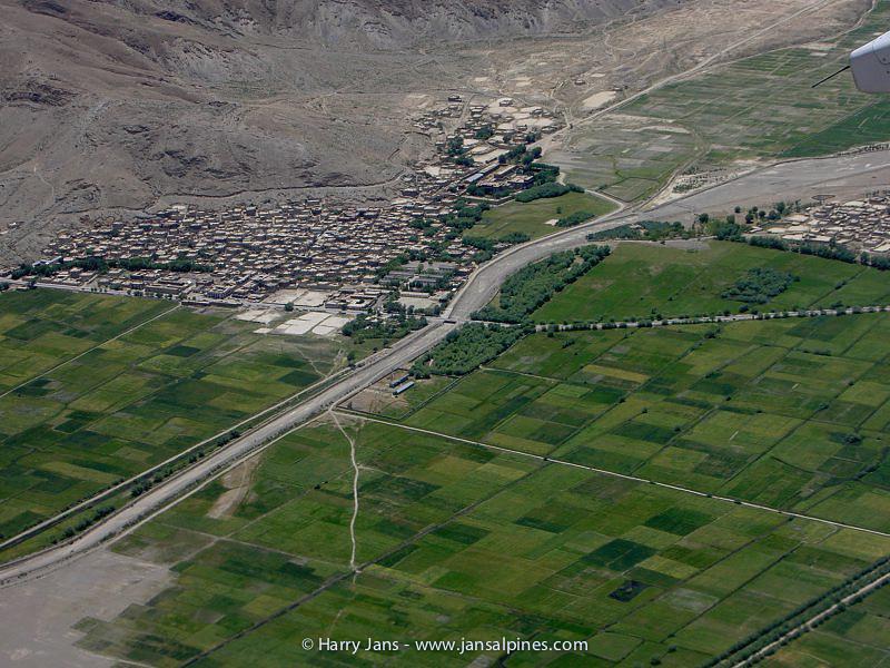 Tibet from a birds eye view