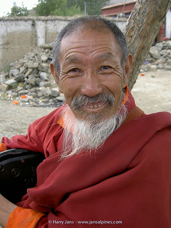 monk near Lhasa