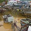 """""""bike park"""" at Tibetan Horse Racing Festival"""