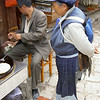 Lijiang, the old city , Naxi woman