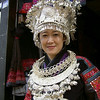 Lijiang, the old city, Miao woman