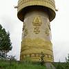 giant prayerwheel in Zhongdian