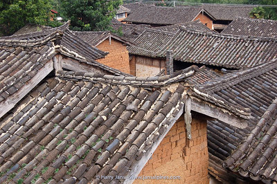 typical Chinese roof tiles