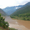 Yangtze river near Tiger Leaping Gorge