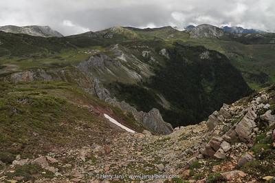view north (Shika Shan, 4410m)