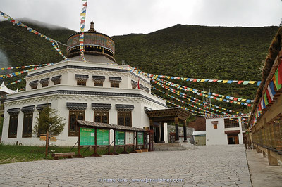 entrance Shika Shan cable car