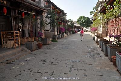 street at Xizhou village