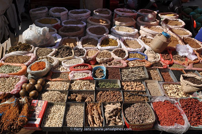 market at Xizhou village