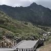 board walk at Cang Shan