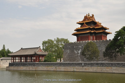 wall arround the Forbidden City
