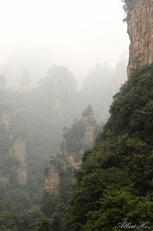 Zhangjiajie - Wulinyuan - Tianzi Mountain 天子山