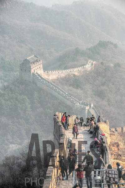 Badaling section of The Great Wall, Yanqing County, Beijing