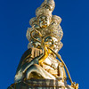 Statue of Samantabhadra at the summit of Mount Emei