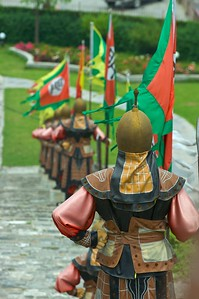 Ming warriors at the Nanjing Zhonghuamen Gate