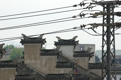 Old and new blend together in the hutongs of Nanjing