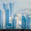 Asia - China - Chinese Eastern Coast - Shanghai - 上海 - Shànghǎi - Global financial center - City Panorama of Pudong district by side of Huangpu River