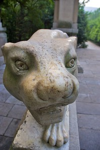 Carved panther