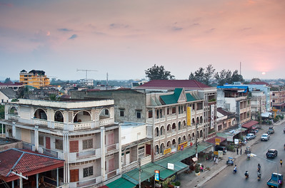 Sunset in Pakse, Lao PDR.