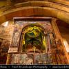 Georgia - Mtskheta - მცხეთა - One of the oldest cities of the country - UNESCO World Heritage Site - Svetitskhoveli Cathedral - სვეტიცხოვლის საკათედრო ტაძარი - Svet'icxovlis sak'atedro t'adzari - The Living Pillar Cathedral - Georgian Orthodox Cathedral