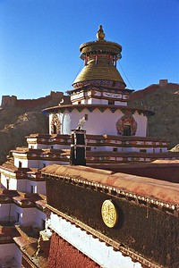 The Gyantse kumbum ('kumbum' means 10000 images)