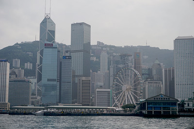 Hong Kong City Skyline from Kowloon