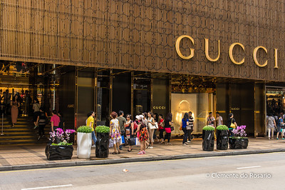 Gucci store in the Harbour City mall, Kowloon, Hong Kong File Ref:2012-06-25-Hong Kong 147