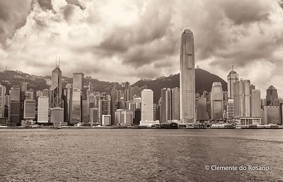 Hong Kong Island skyline from Kowloon File Ref:2012-06-25-Hong Kong 114 1723