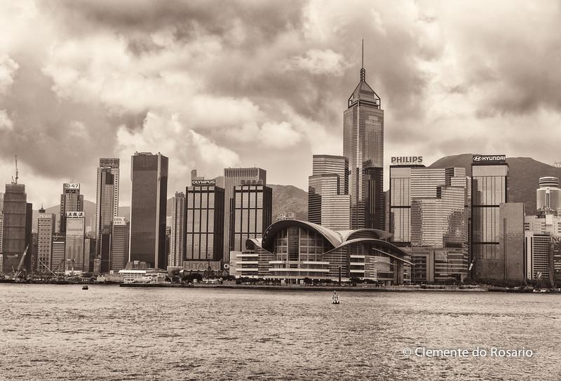 Hong Kong Island skyline from Kowloon<br /> File Ref:2012-06-25-Hong Kong 119 1724