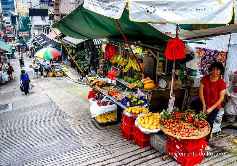 Graham Street Market, Hong Kong Island<br /> File Ref:2012-06-25-Hong Kong 071