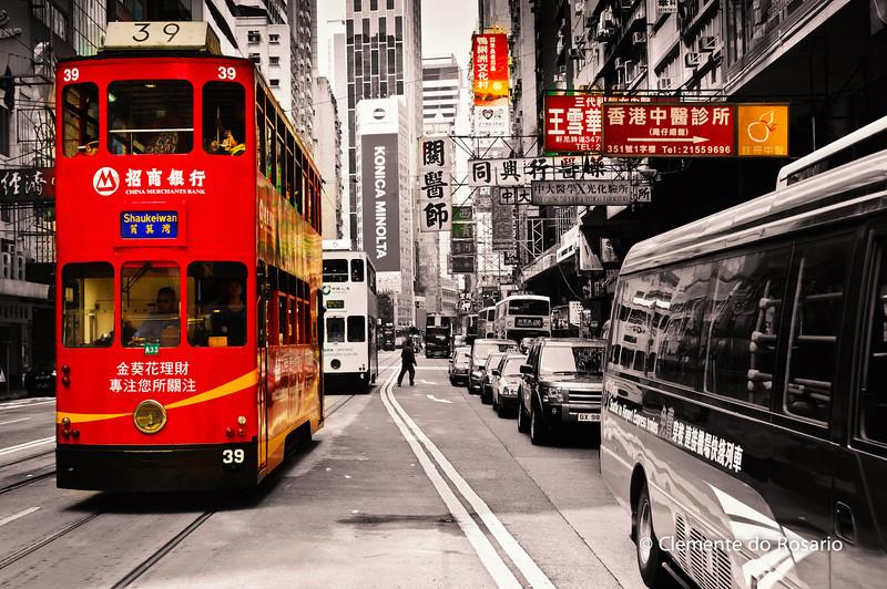 Hong Kong's Double-Decker Trams<br /> File Ref:2012-06-25-Hong Kong 118A 1459