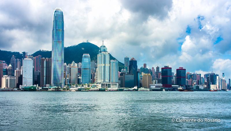 Hong Kong Island skyline from Kowloon<br /> File Ref:2012-06-25-Hong Kong 130 1725