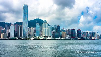 Hong Kong Island skyline from Kowloon File Ref:2012-06-25-Hong Kong 130 1725