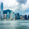 Hong Kong Island skyline from Kowloon<br /> File Ref:2012-06-25-Hong Kong 130 1725