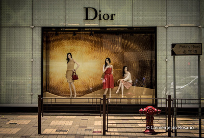 Dior Boutique in the Harbour City, a megamall located near the docks in Kowloon, Hong Kong File Ref:2012-06-25-Hong Kong 145