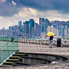 A view of the Hong Kong Island skyline from Museum of Art in Kowloon<br /> File Ref:2012-06-25-Hong Kong 114 1719