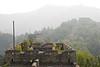 Overgrown walls at Mu Tian Yu